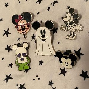 🖤 Disney Mickey & Minnie Mouse Pins 🖤